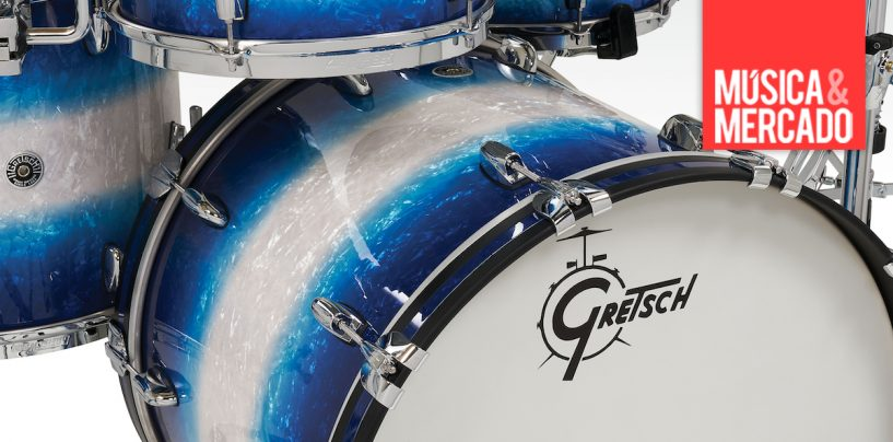 Brooklyn Kits da Gretsch ganha novas cores