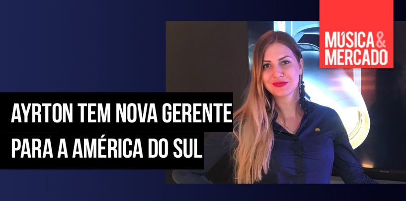 Ayrton nomeia nova gerente para a América do Sul