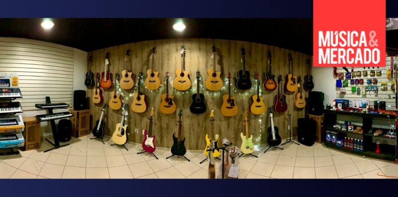 Songs Instrumentos Musicais: nova loja e foco nas redes sociais