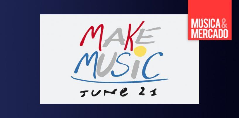 Make Music Day será on-line em 2020