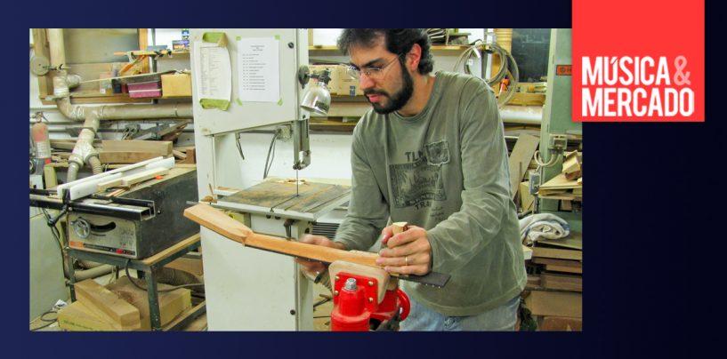 Luthier Max Rosa mostra seus incríveis violões com cordas de aço