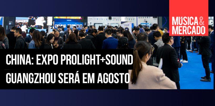 China: Feira Prolight + Sound Guangzhou será em agosto