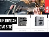 Seymour Duncan renovou seu site