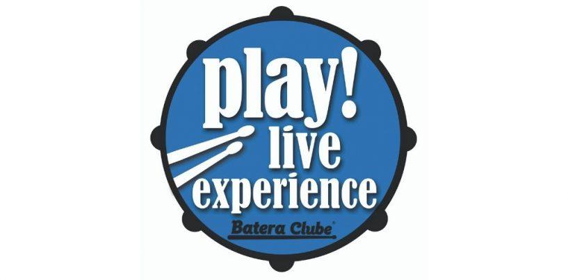Play! Live Experience é o primeiro concurso totalmente online de bateristas