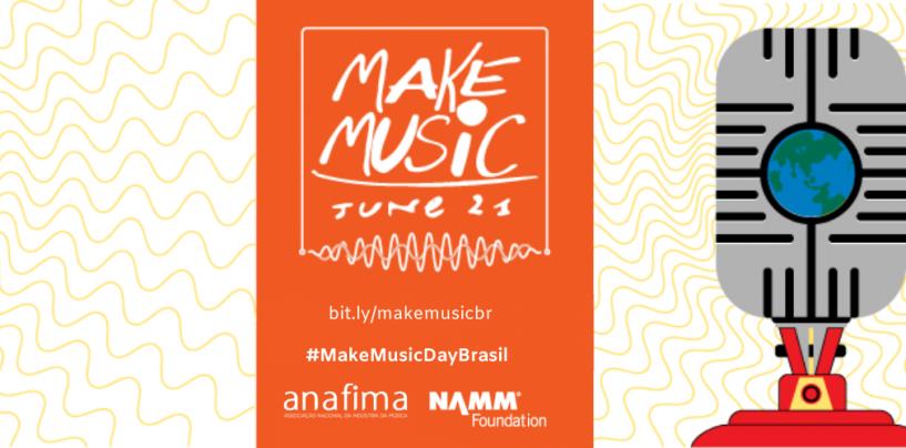 Make Music Day – 120 países tocando juntos: abre inscrição para mega evento virtual