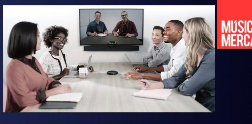 Shure faz parceria com Logitech para fornecer soluções em vídeo