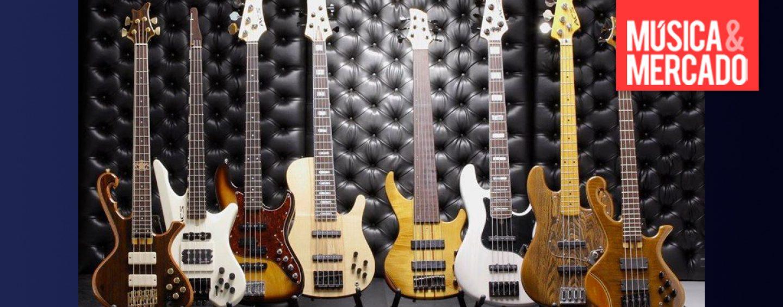 Elegância nos graves: Luthier Ademir Coelho Souza (ACS Custom Basses) e seus singulares contrabaixos