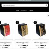 Cajon Percussion lança loja virtual própria