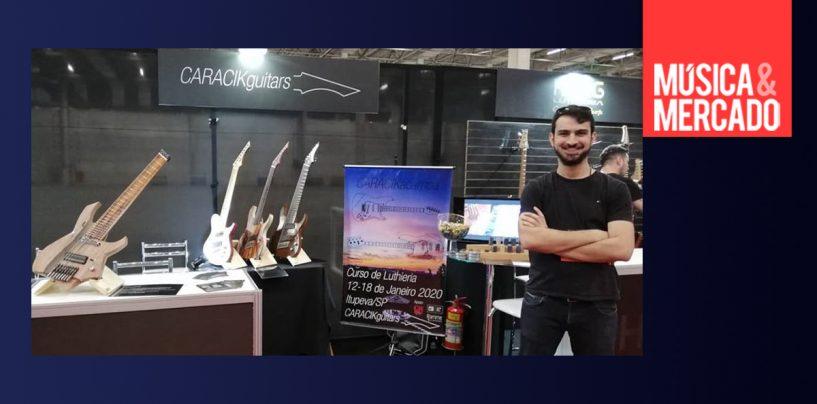 Conheça o trabalho do luthier Lucas Caracik e suas guitarras multiescala