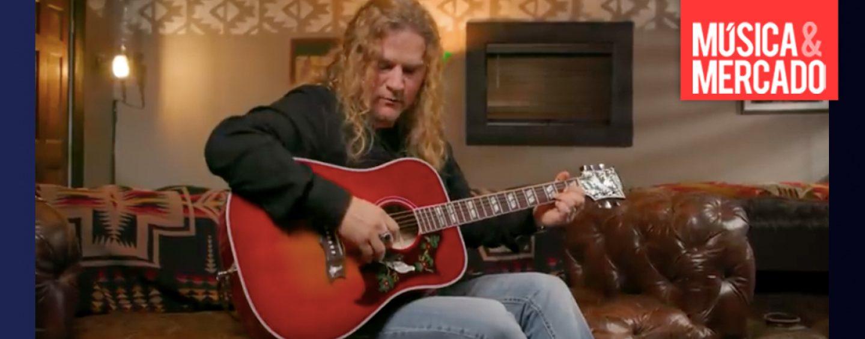 """Gibson apresenta violão """"Love Dove"""""""