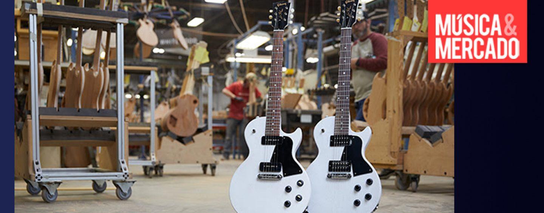 Gibson lança Les Paul fabricada nos EUA por US$ 999