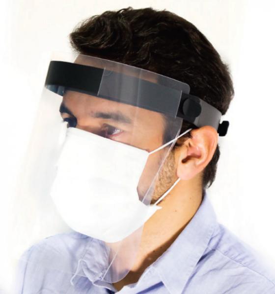 Izzo destaca que o protetor facial deve ser utilizado em conjunto com proteção adicional e não é recomendado como única forma de proteção