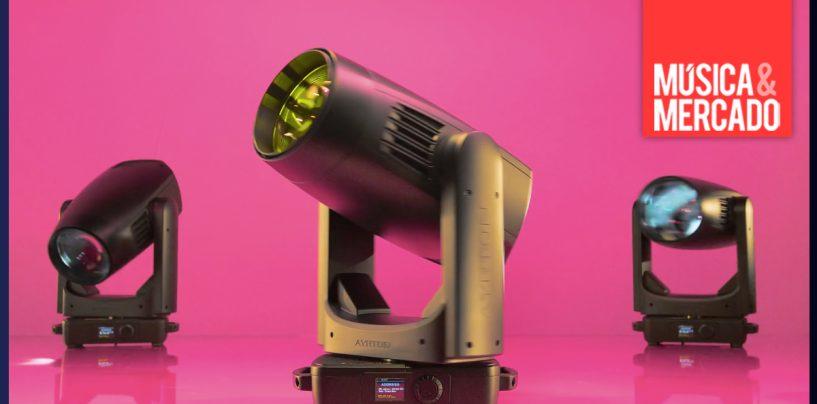 Ayrton lança beam-spot LED Karif-LT