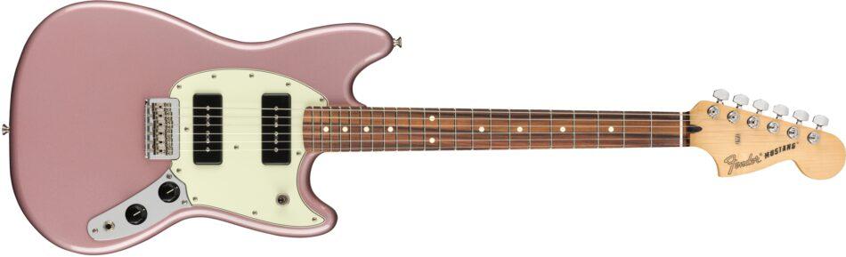 Fender Mustang Burgundy Mist