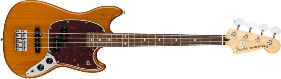 Fender Mustang Bass PJ Aged Natura