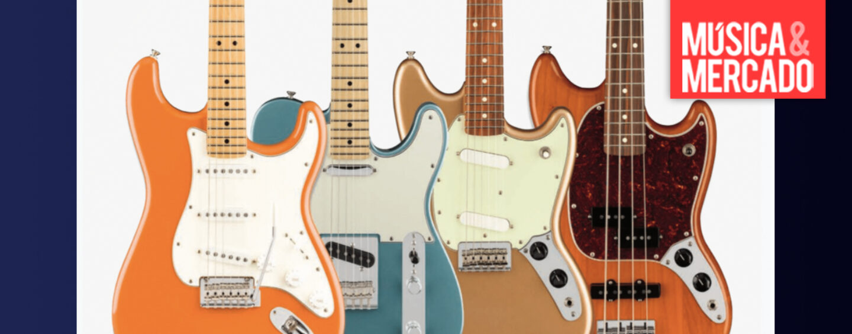 Fender apresenta mais acabamentos para a Série Player