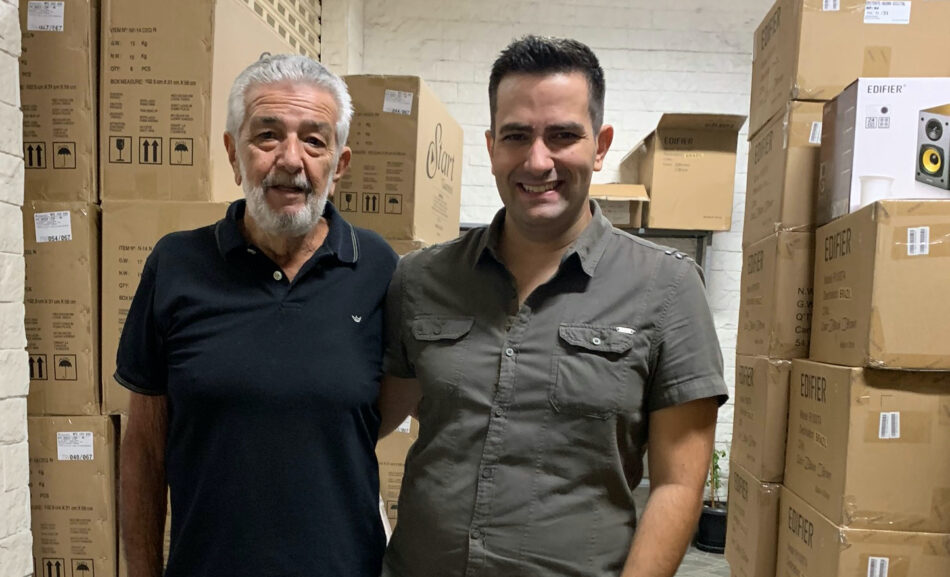 Henrique e Rodolfo Alves RCK Audio
