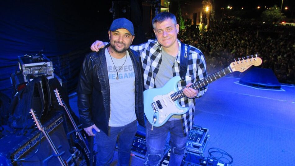 Luthier Natan e Alex Fornari Zezé di Camargo Luciano