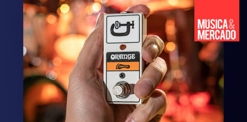 Novo footswitch FS1 Mini da Orange Amps