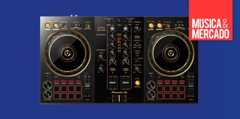 Pioneer DJ apresenta versão do DDJ-400-N em cor de ouro