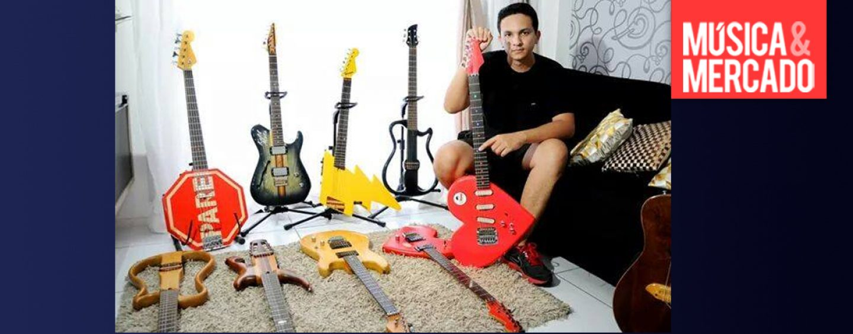 Criatividade e irreverência: conheça o trabalho do luthier Rodrigo Mozan