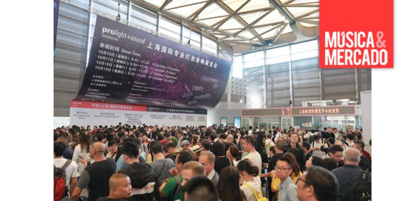 Prolight + Sound Shanghai será realizada apenas em 2021