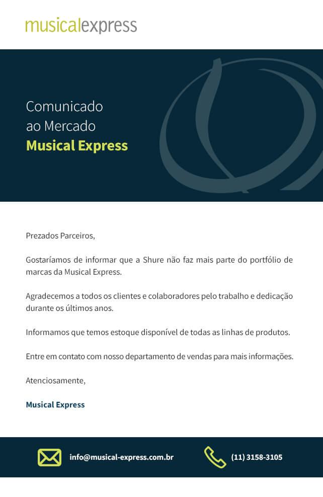 Comunicado ao Mercado_Musical Express