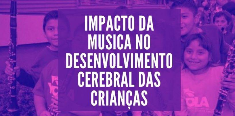 Impacto da música no desenvolvimento cerebral das crianças