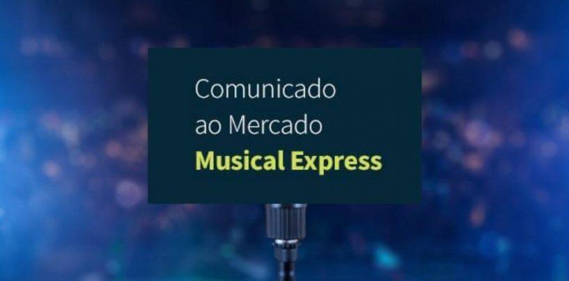 Musical Express comunica saída da Shure de seu portfólio