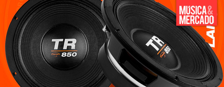 Triton Alto-Falantes lança o TR 850