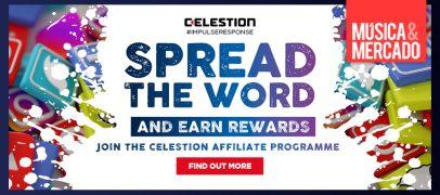 Celestion lança programa de afiliados