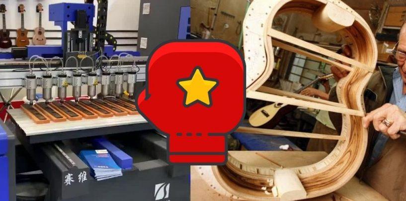 Luthiers: Produção manual vs CNC: a grande disputa nos fóruns de luteria