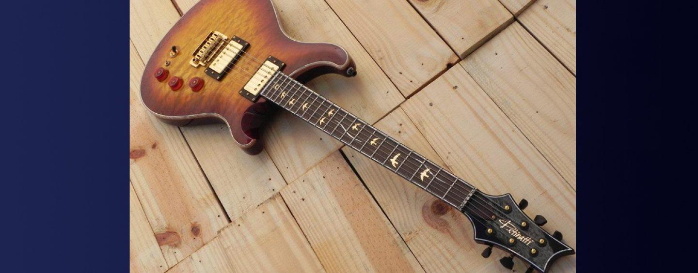 Luthier: arte de Igor Petinatti, da Petinatti Guitars