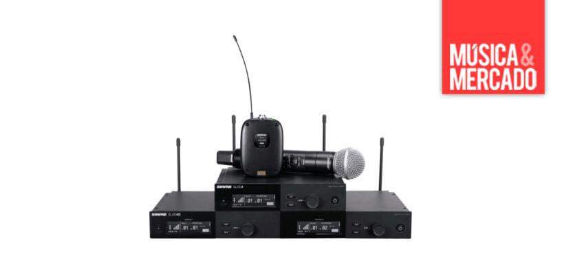 Novo sistema digital sem fio SLX-D da Shure