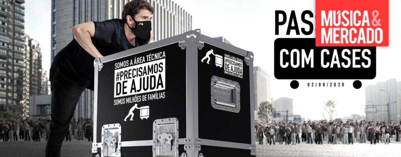 Técnicos da indústria do entretenimento realizaram protesto em São Paulo