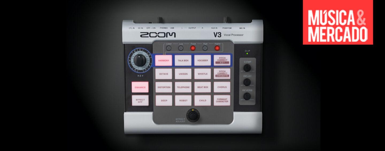 Novo processador vocal V3 da Zoom