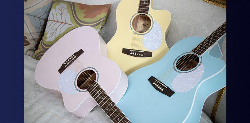 Cort lança violões eletroacústicos Jade Classic