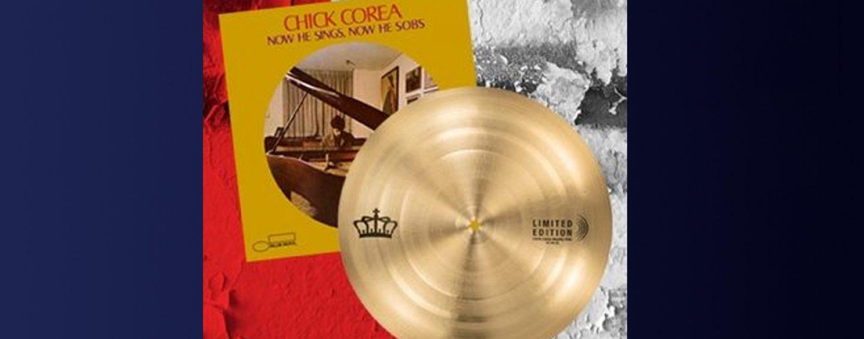 Sabian faz réplica do prato do baterista do Chick Corea