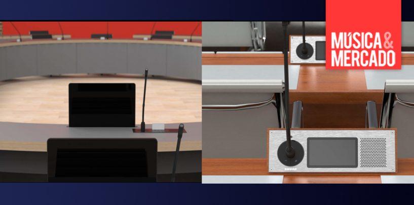 Sistema de conferência Microflex Complete da Shure pode ser customizado