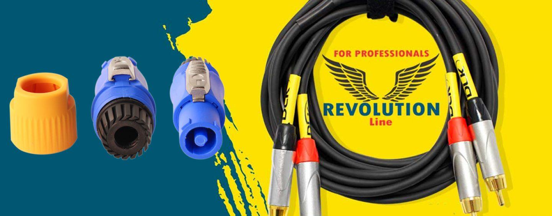 Datalink apresenta conectores PowerCon e cabos Revolution