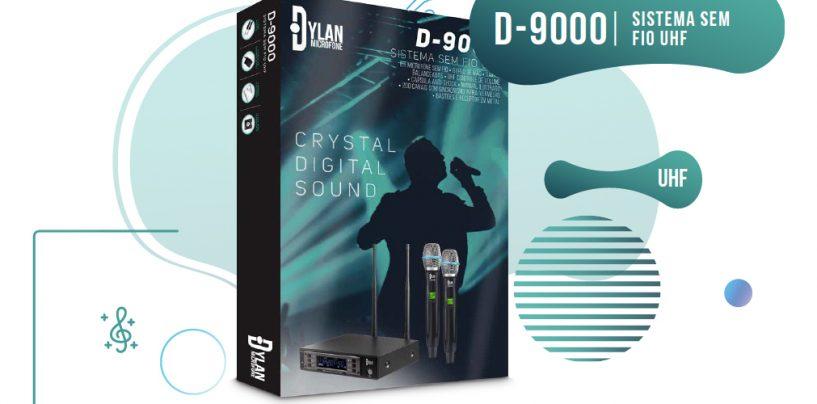 Novo sistema wireless UHF D-9000 da Dylan