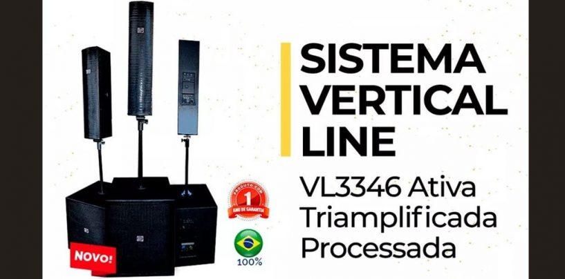 VL3346 é o sistema vertical da Eco Som