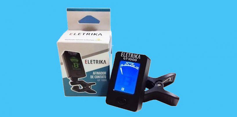 Afinador Eletrika GT-1000 de contato