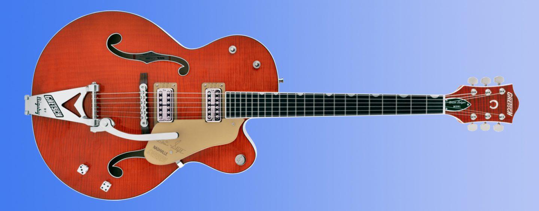 Nova guitarra G6120TFM Brian Setzer Signature Nashville da Gretsch