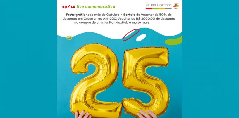 Grupo Discabos fará Live de aniversário no dia 19/10