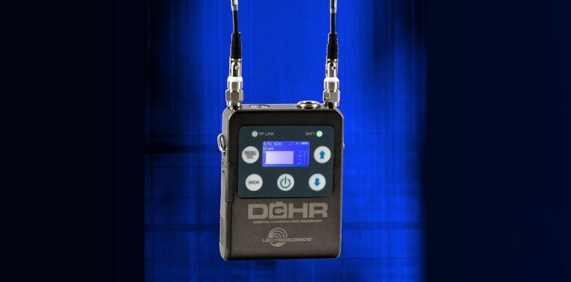 Lectrosonics lança receptor digital DCHR miniatura estéreo