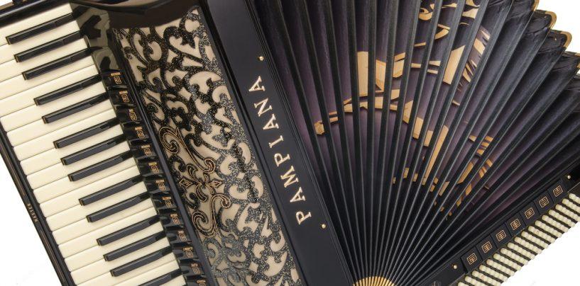4 modelos de acordeons Super Tone da Pampiana