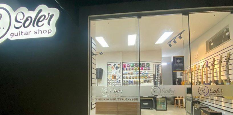 R. Soler Guitar Shop abre suas portas em Presidente Prudente/SP