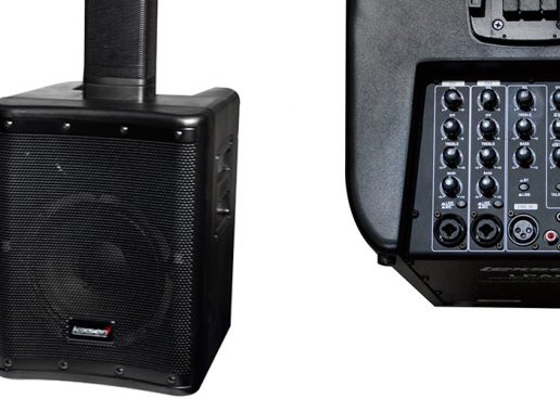 Novo sistema de som vertical portátil Lexsen LPA8