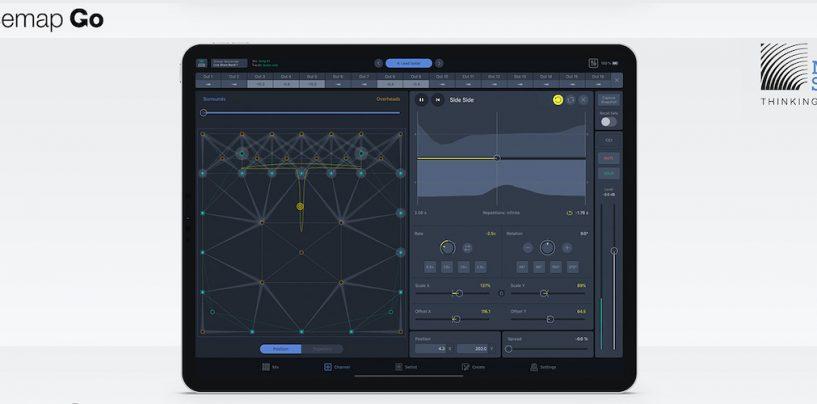 Novo aplicativo Spacemap Go da Meyer Sound